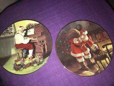 Edwin Knowles China Santa's Cheer from Coll Santa's Love & Santa's Christmas