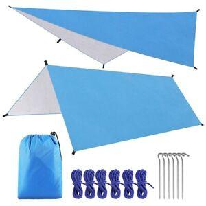 Camping Tent Sun Awning Waterproof Travel Car Shade Garden Beach Umbrella Tarp