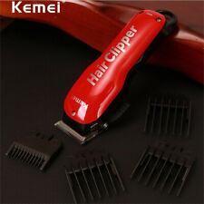 Hair Cut Trimmer Clipper Men's Pro Electric Barber Cutting Machine Kit KEMEI US