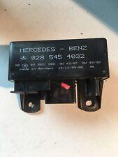 MERCEDES 2.7 DIESEL W163 ML 270 CDI 2001 GLOW PLUG SYSTEM CONTROL UNIT RELAY