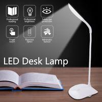 Tischlampe LED Schreibtischleuchte Büro dimmbar Augenschutz Nachttischleuchte