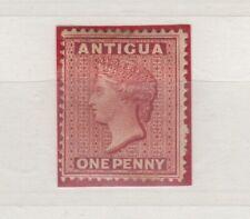 More details for antigua 1884 1d rose perf 14 sg26 mh j4287