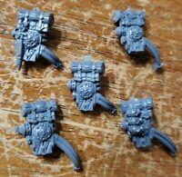 Warhammer 40k Astra Militarum Tempestus Scions Bits:Lasgun Powerpack Backpacks