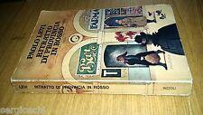 PAOLO LEVI-RITRATTO DI PROVINCIA IN ROSSO-RIZZOLI-1975-PRIMA EDIZIONE-SL45
