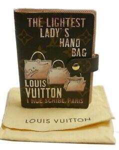 Authentic LOUIS VUITTON Agenda PM limited bag  PVC #2911
