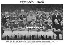 IRELAND FOOTBALL TEAM PRINT 1948