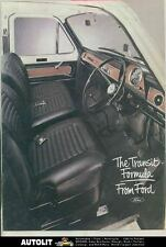1965 ? Ford England Transit 90 100 115 125 130 150 175 Van Truck Brochure ws3470