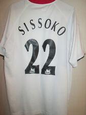 "Liverpool 2004-2005 Sissoko Away Football Shirt Size Medium 38""-40"" /5673"