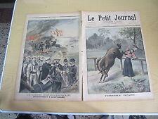 Le petit journal 1898 n° 398 Guerre hispano-américaine débarquement à guantanamo