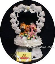 Garfield & Arlene Wedding Cake Topper entwined Cat  #Heart pet animal top funny