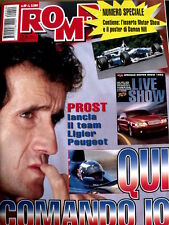 Rombo 49 1996 Numero Speciale inserto Motor Show e maxi poster Damon Hill [R2]