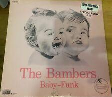 """Schallplatte Vinyl (12"""" Maxi) The Bambers - Baby Funk"""