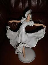 Ballerina Tänzerin  Porzellan Figur Wallendorf - Donau Wellen -