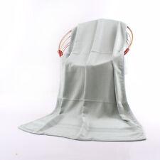 28X55 in Solid Bamboo Fiber Absorbent Drying Bath Beach Towel Washcloths Shower