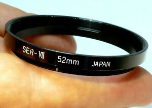 52mm to 54mm step up ring Adapter series 7 VII Filter Holder male to female