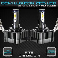 Stark 72W 7600LM Headlight LED Canbus Conversion Kit 6000K White D1S D1R D1C (A)