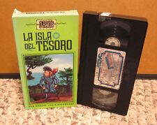 TREASURE ISLAND Spanish cartoon Robert Louis Stevenson VHS La Isla De Tesoro