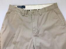 Polo By Ralph Lauren Preston Pant Rn 41381 Khaki Size 32x32 Pants