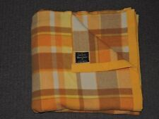 INVICTA Royal House 100% PURE WOOL Queen Size Bed Blanket Excellent Condition #2