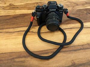 Schultergurt Kamera Seil / shoulder strap camera rope, mirrorless, DSLR, black