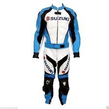 Suzuki GSXR Moto Cuero Traje Moto Cuero Racer Traje-Todas las Tallas