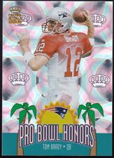 2002 Pacific Crown Royale Tom Brady Pro Bowl Honors #11 SHARP!!