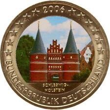 A2921 Allemagne 2 Euros Commemo Schleswig Holstein 2006 Colorful Colorisé FDC UN