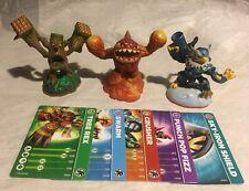 Skylander Giants Spyro Figures - Lot of 3 & 5 Cards
