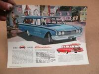 1960 Ford Courier Wagon Sales Brochure   Original