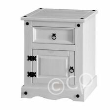 Corona Modern Bedside Tables & Cabinets with 1 Drawer