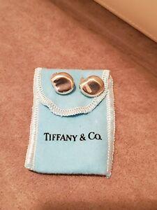 Tiffany & Co Elsa Peretti Bean Design ear clips in Sterling Silver