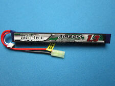 TURNIGY NANO-TECH 1300mAh 3S 11.1V 25-50C LIPO BATTERY AIRSOFT MINI TAMIYA MOLEX