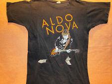 True Vintage Original ALDO NOVA Concert T-Shirt 1982 Size LG Tour Shirt