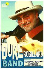 DUKE ROBILLARD 2017 Gig POSTER Portland Oregon Concert