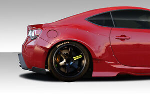 13-16 Scion FRS GT500 Duraflex Wide Body Kit- Rear Fenders!!! 109030