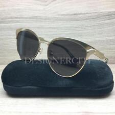 b0742a8353b Gucci GG 0074 S GG0074S Sunglasses Gold Black 003 Authentic 57mm