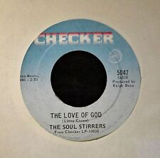 BLACK GOSPEL 45 Soul Stirrers Checker 5047 The Love Of God and If I Had A Hammer