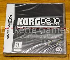 KORG DS-10 SYNTHESIZER - NINTENDO DS - PAL ESPAÑA - NUEVO PRECINTADO DS10 DS 10