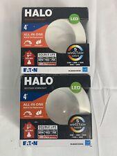 "Eaton HALO 4"" Recessed Downlight White 2 Packs"