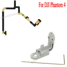 New Gimbal Yaw Arm Aluminum and Flat Ribbon Cable For DJI Phantom 4 Camera Drone