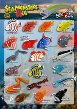 DeAgostini Seamonsters & Co.  komplett Set alle 21 Figuren Fische