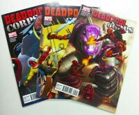 Marvel DEADPOOL CORPS (2010) #5 6 7 LADY DEADPOOL Rob LIEFELD LOT Ships FREE!