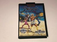 Shadow Blasters Sega Genesis w/Case Cleaned & Tested Authentic