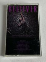 "Believer ""Extraction From Mortality"" 1989 Cassette Tape Christian Thrash Metal"