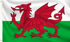 More details for wales flag - welsh dragon flags hand, 3x2, 5x3, 8x5 feet by onefiftyflags uk