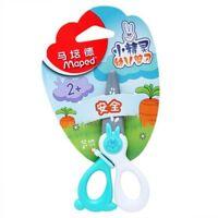 Maped Kidi Cut Children's Kids Safety Scissors Plastic Blades Rh - Green & White