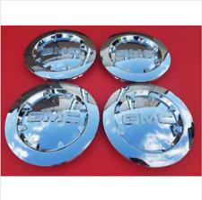 "4 PCS 2007-2013 GMC SIERRA 1500 YUKON XL DENALI Chrome Center Cap 20"" # 9596381"