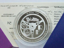 COFFRET EURO 1,5 € ACF 2006 ARGENT BE FDC SILVER PROOF PACK COMPLET