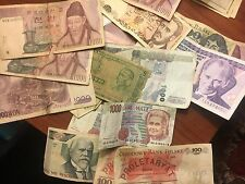 Old Foreign Currency mint condintion from varies places