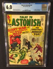 TALES TO ASTONISH #50 Comic CGC 6.0 Marvel 1963 Ant-Man WASP 1st App WHIRLWIND